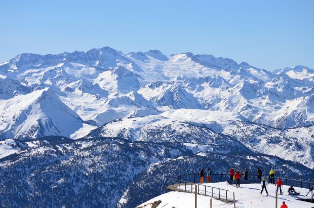Baqueira en el mejor momento del invierno: 255 cm de nieve y 160 km de pistas