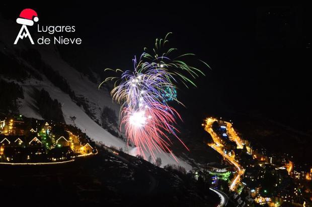 Bajada de antorchas, fuegos artificiales y conciertos en Baqueira para estrenar el año