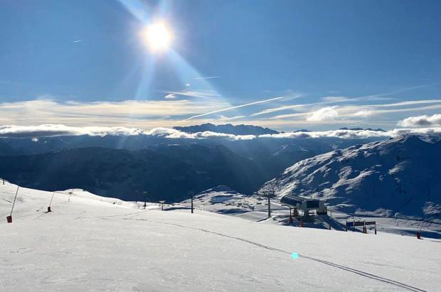 Otoño con récord de nevadas en la Val d'Aran, que las lluvias pueden derretir a partir del miércoles
