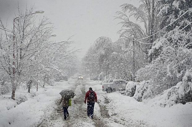 Se supera el Récord histórico de frío en Bariloche: 25,4 grados bajo cero