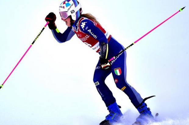Bassino, intratable en el gigante de Kranjska Gora, mientras Feller gana su primer slalom en Flachau