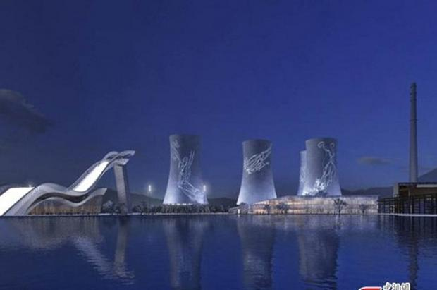 Una antigua fábrica de acero se transformará en gran sede aérea para Beijing 2022