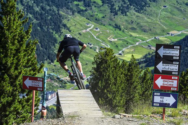 Después de 10 años, Soldeu no abrirá más el Bike Park en verano
