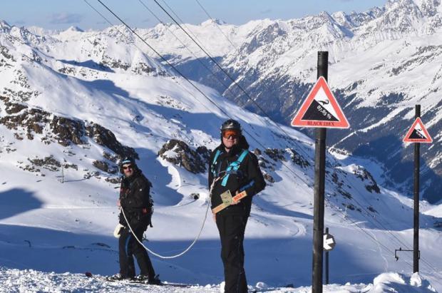 Si te gustan las negras, Austria acaba de abrir la pista más empinada de Europa con 41 grados