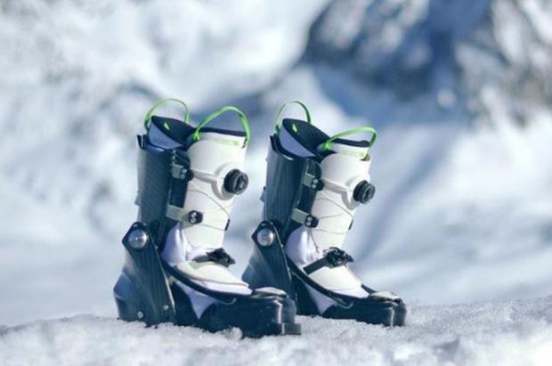 Nuevas botas para esquiar... y pasear por la calle