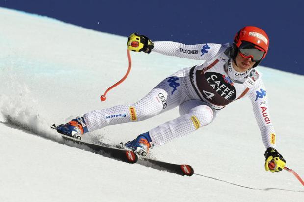 La italiana Brignone gana la combinada de Crans Montana por tercera vez consecutiva