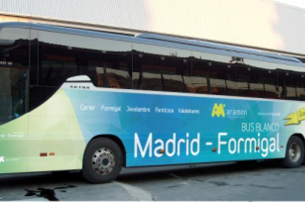El bus blanco al sector Panticosa comienza su temporada este jueves