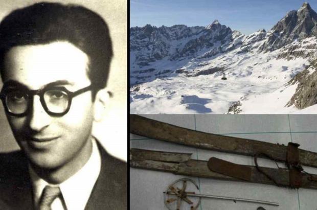 Identificado un esquiador francés sepultado bajo la nieve en el Cervino hace más de 60 años