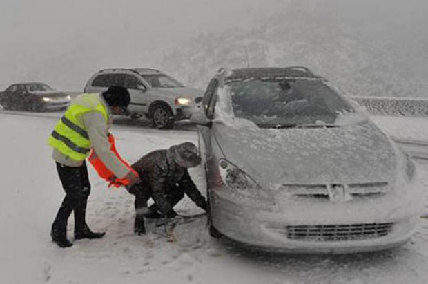 Obligatorios los neumáticos de invierno en Francia a partir del 1 de noviembre