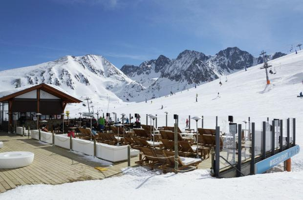 Fin de semana de Carnaval con más de dos metros de nieve en Grandvalira