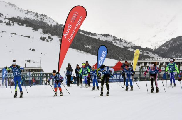 Se disputa en Baqueira Beret la primera prueba de la nueva Copa de España de Esquí de FOndo