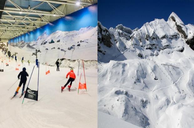 El sector de la nieve no entiende porqué se puede esquiar en Madrid SnowZone y no en Candanchú
