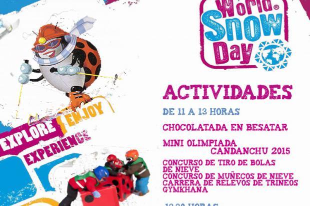 Candanchú se suma al World Snow Day este fin de semana
