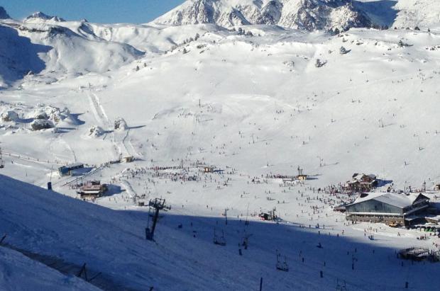 Candanchú llega a los 37.000 esquiadores estas navidades
