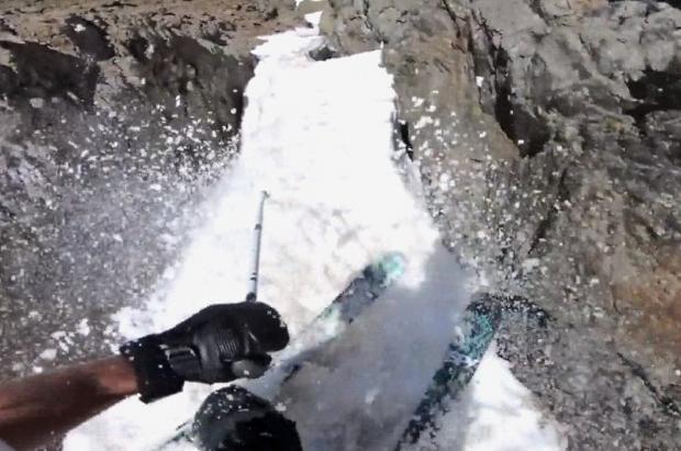 ¡El vídeo más viral de Noah Albaladejo! esquiando en Arcalís en pleno julio