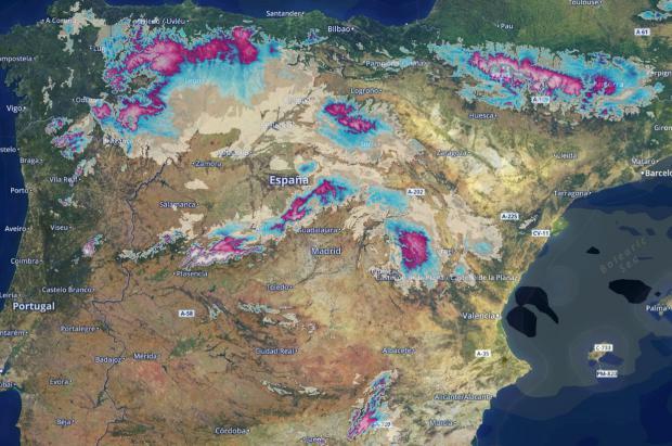 Previsión Meteo Fin de de Semana: Después de la ola de frío llegan más nevadas en montaña