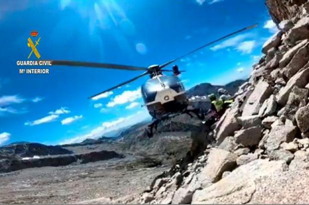 Una montañera catalana fallece tras caer 70 metros cerca del Aneto