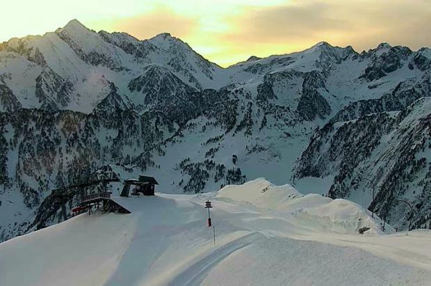 Cauterets y Val d'Azun inician la temporada de esquí