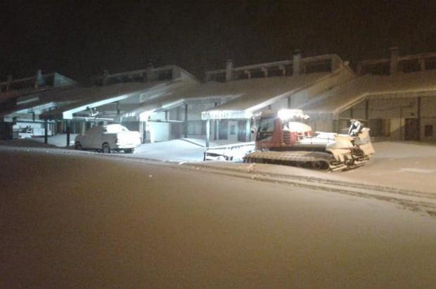 Caviahue listo y con buena nieve para su apertura este viernes 28 de junio