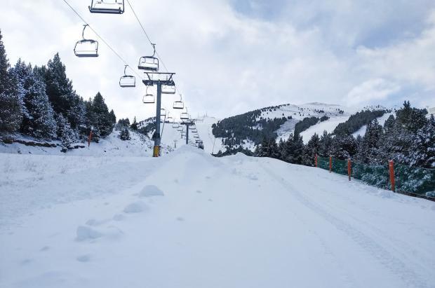 El sector de la nieve pide a los gobiernos de España y Aragón un plan de rescate