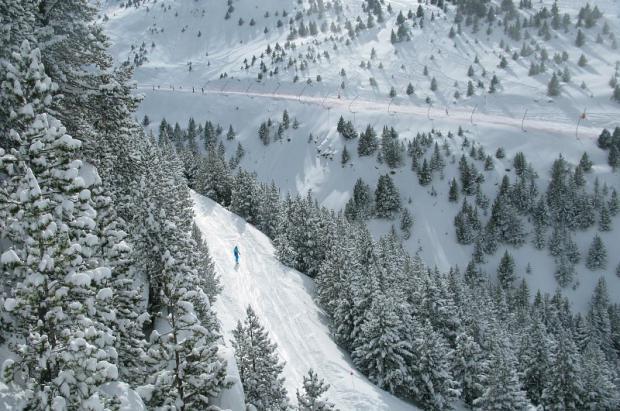 La nevada deja hasta 50 centímetros en Formigal y 40 en Cerler