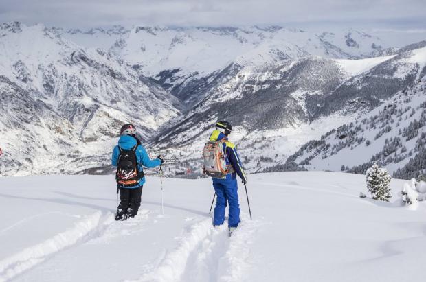 Las estaciones de Aramón suman 240 kilómetros esquiables por Carnaval