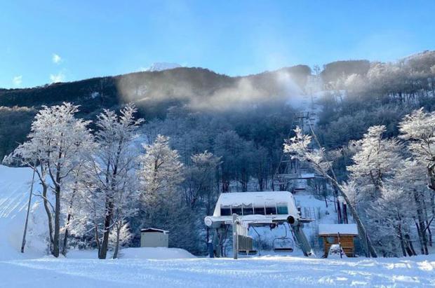 Cerro Castor estrenará la temporada de esquí del Fin del Mundo en dos semanas