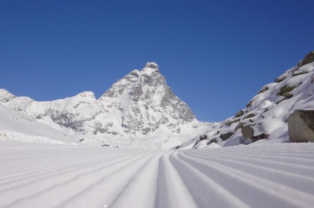 Zermatt quiere entrar en la Copa del Mundo con la pista de descenso más larga y alta del mundo