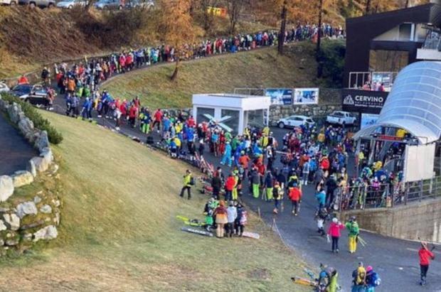 Italia suspende provisionalmente el esquí, pero deja una brecha para que las estaciones no cierren