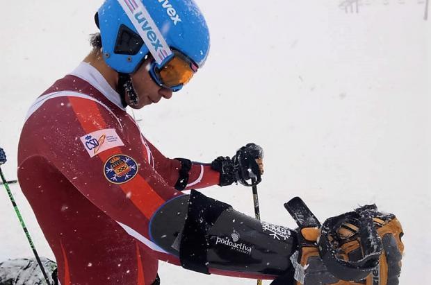 El equipo de competición de alpino del CETDI Aragón empieza la pretemporada 2016/17