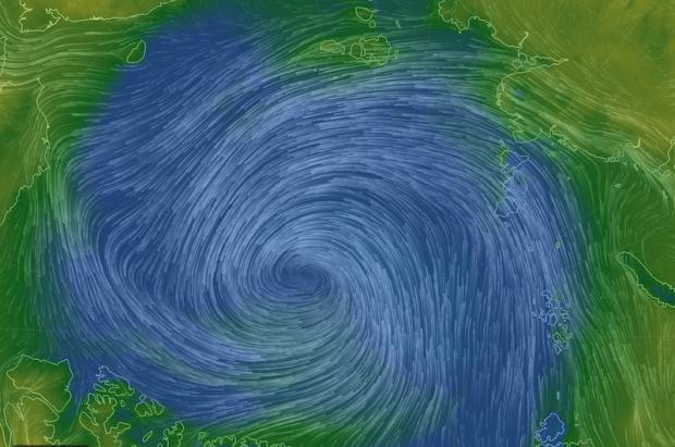 El Gran Ciclón Ártico ataca de nuevo