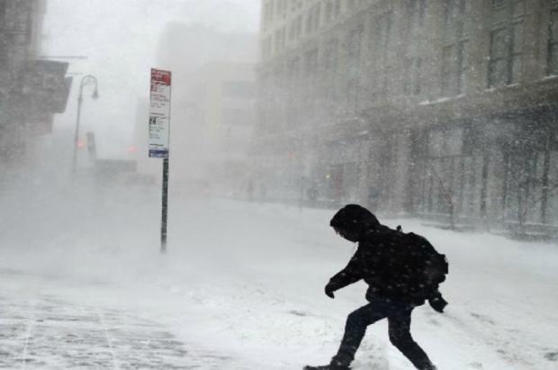 """Un """"ciclón bomba"""" azota Estados Unidos y causa la primera víctima mortal en Denver"""