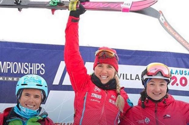 Una gran Clàudia Galicia consigue el primer oro en el Mundial de esquí de montaña