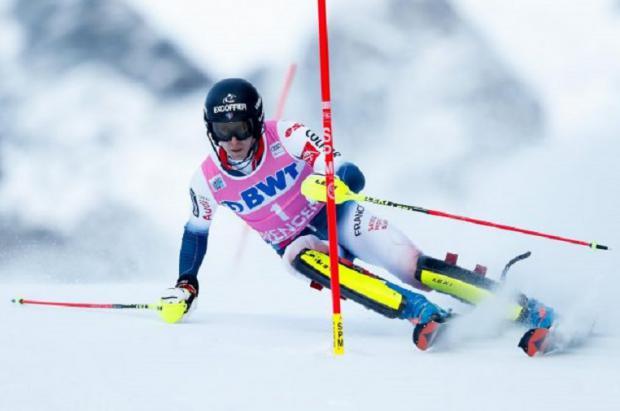 Noël se convierte en el primer francés que gana dos veces el slalom suizo de Wengen