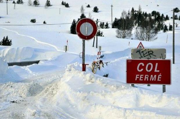 Restablecida la circulación entre Andorra y Francia después de un corte de más de 24 horas