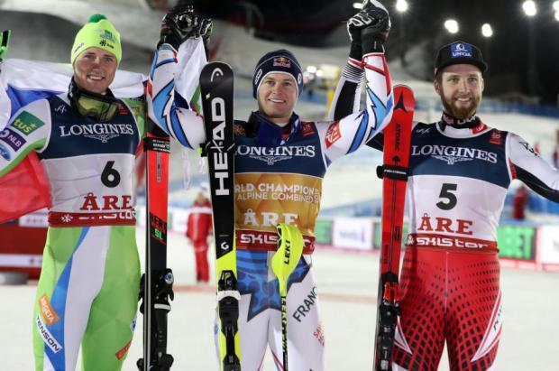 Alexis Pinturault conquista una merecida medalla de oro en la Combinada