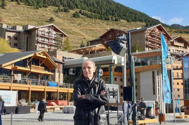 Conrad Blanch finaliza su brillante trayectoria profesional tras más de 25 años en Grandvalira