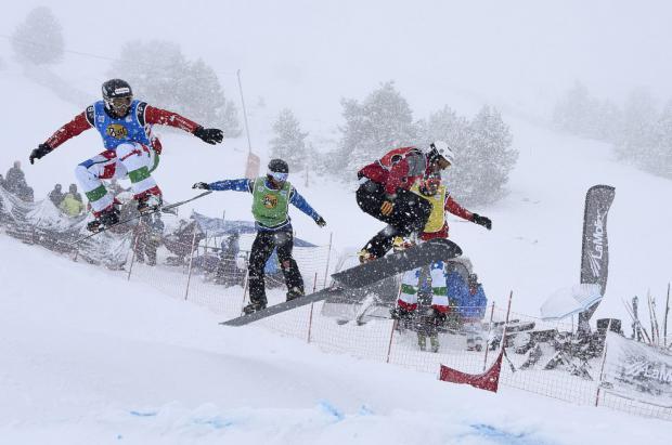 La élite del snowboard internacional se cita en la Copa del Mundo SBX FIS de La Molina