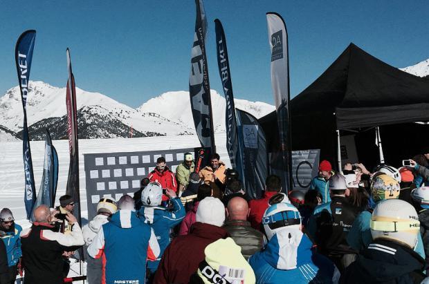 """La RFEDI invita a los """"Masters"""" del esquí alpino a la Casa de España de Saas Fee"""