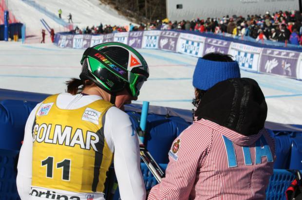 Las finales de la Copa del Mundo de esquí en Cortina, sin público por coronavirus