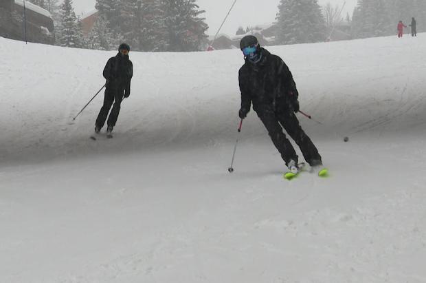 Courchevel consigue abrir una pista de esquí alpino evitando el cierre de los remontes