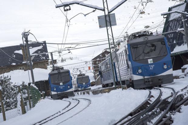 Servicios mínimos en las estaciones de esquí del Grupo FGC durante la huelga del 21 de febrero