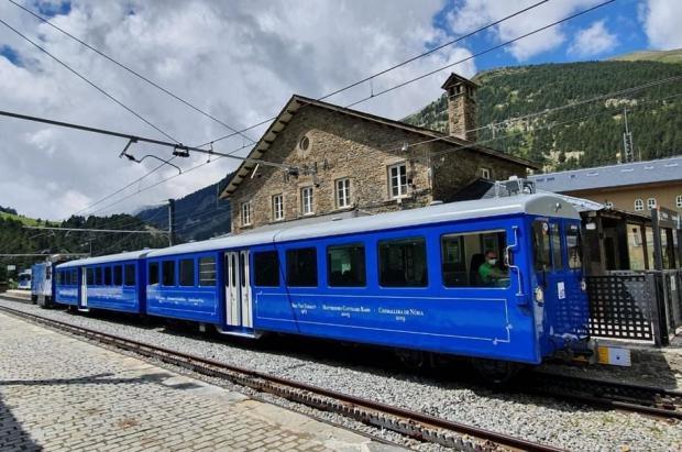 FGC presenta el nuevo acceso automatizado a los trenes cremallera de la Vall de Núria