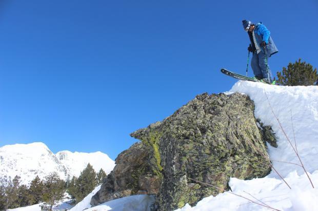 Dani Fornell se lesiona en una de sus últimas esquiadas de la temporada