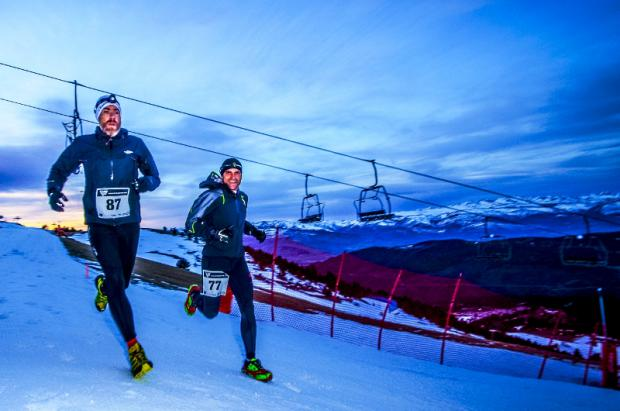 Dark Polar Race, snowrunning de atardecer en La Molina