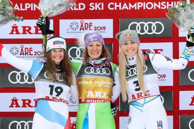 Lindsey Vonn, la mejor esquiadora de todos los tiempos, se despide con un bronce en Are