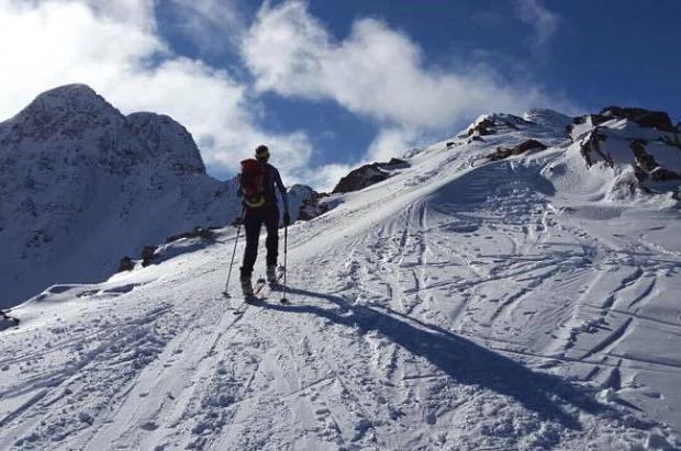 El esquí de montaña: deporte de moda