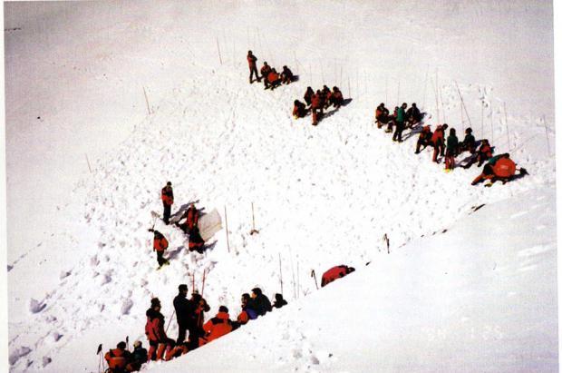 """""""Balandrau, infierno helado"""" el documental que revive la peor tragedia del Pirineo con 9 víctimas"""