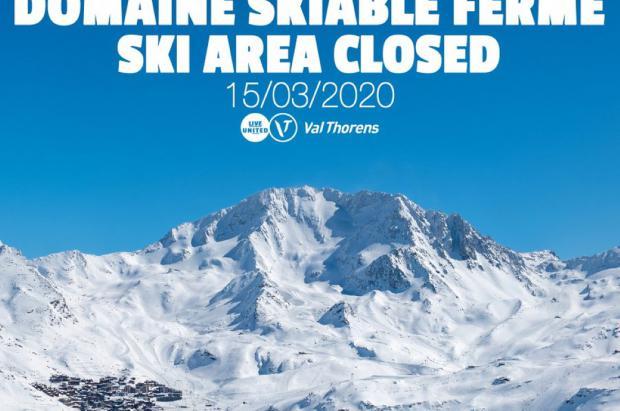 El Gobierno francés decreta el cierre de todas las estaciones de esquí