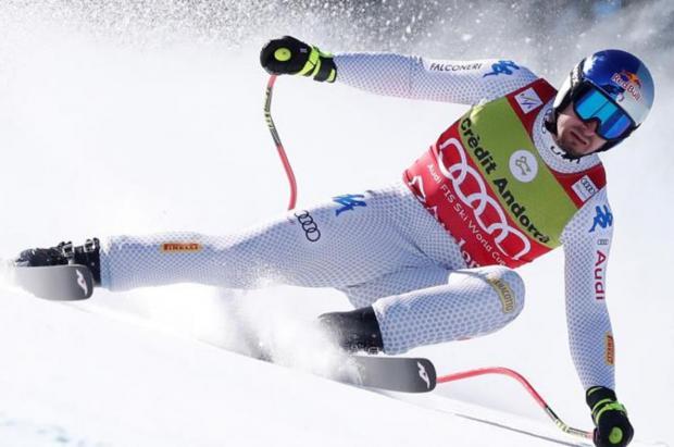 Dominik Paris gana dos descensos en dos días y recital de Mikaela Shiffrin en gigante